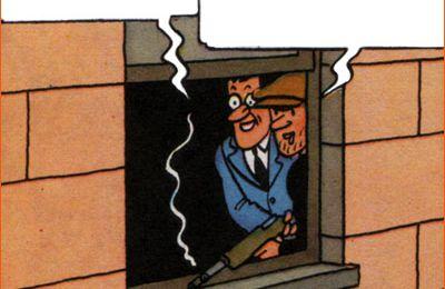 Tintin se prend pour Eliot Ness