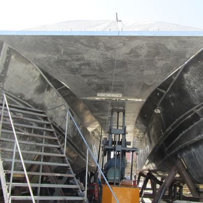 Some pictures of the progress for this catamaran CTM22