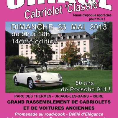 Uriage Cabriolet Classic 2013