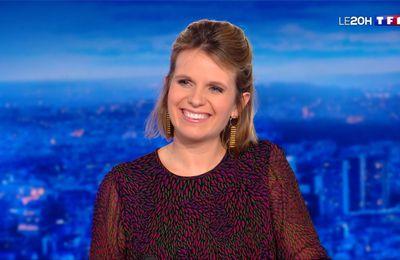 Garance Pardigon Le 20H TF1 le 23.11.2020