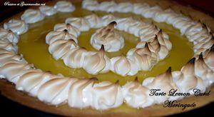 Tarte Lemon Curd meringuée