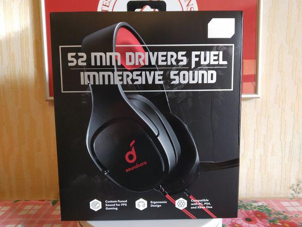 unboxing du casque de gaming d'entrée de gamme - Soundcore Strike 1 @ Tests et Bons Plans