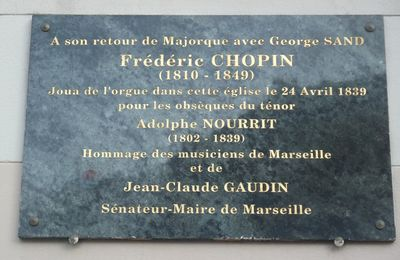 George Sand, Frederic Chopin et l'orgue de ND du Mont