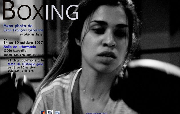 L'exposition photo Boxing voyage ....