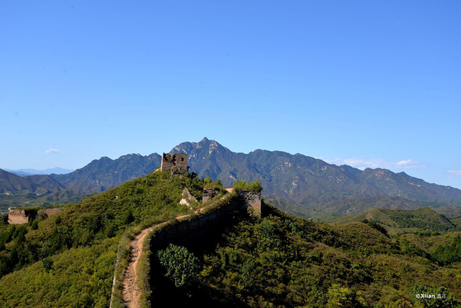 La Grande Muraille de Panlongshan : un serpent qui sinue - 古北口的蟠龙山长城