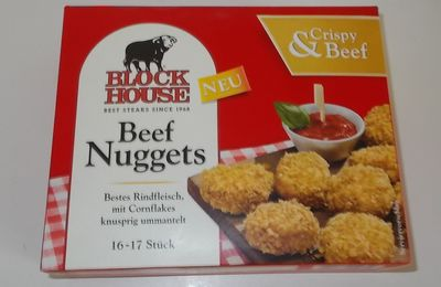 Block House Beef Nuggets Crispy & Beef