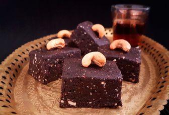 Brownies aux dattes sans cuisson