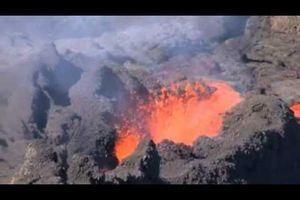 Eruption du Piton de la Fournaise juin 2014
