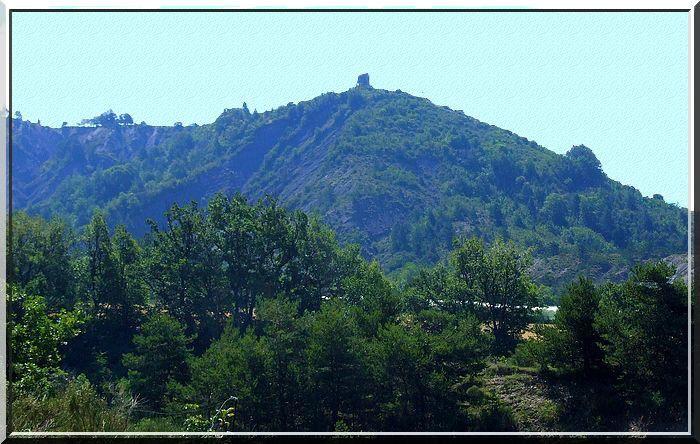 Diaporama du château de Melve