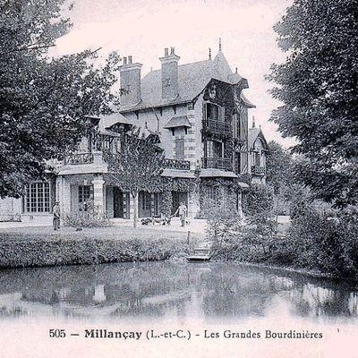 Millançay : Les Grandes Bourdinières.