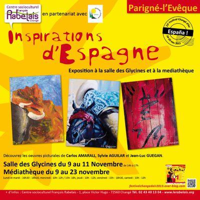 Inspirations d'Espagne : exposition à Parigné-l'Evêque