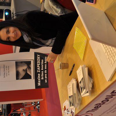 Mars 2011, salon du livre de Paris