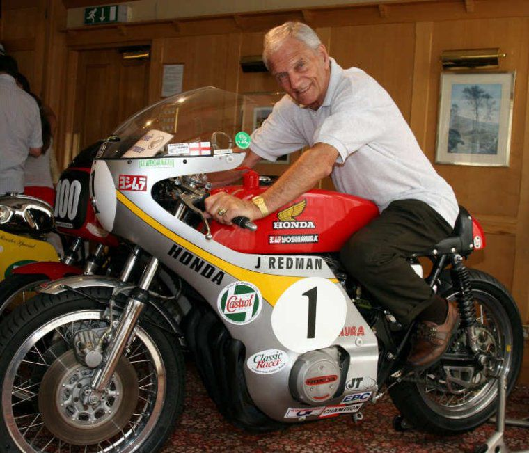Jim Redman pilote de Grand Prix