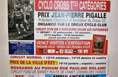 Cyclo-cross d'Ezy sur Eure (27) le 25 octobre 2020