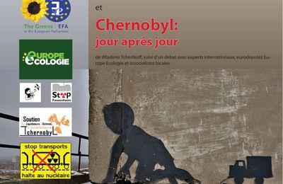 "Conférence "" Tchernobyl, la catastrophe permanente"""