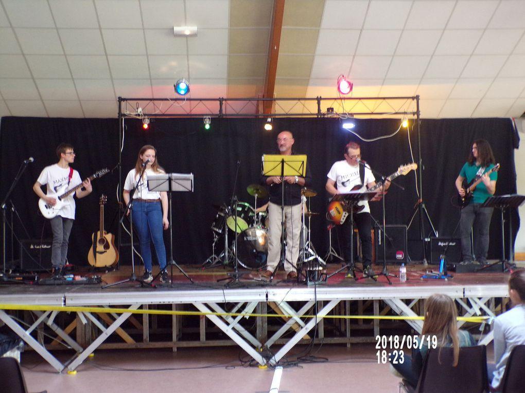 Concert des élèves à Volmerange