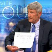 """Philippe de Villiers: """" J'ai un document qui montre que le journal Le Monde reçoit des subventions annuelles de Mr Bill Gates! Je n'aime pas qu'on me cherche quand je dis la vérité, et qu'on me traite de complotiste. Voilà, CQFD !! """" - PLANETES360"""