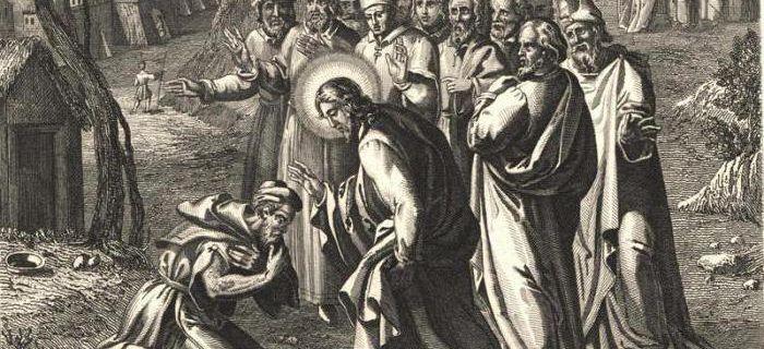 JESUS ET LA GUERISON DU LEPREUX