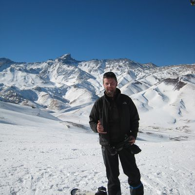 Snow made in Argentina