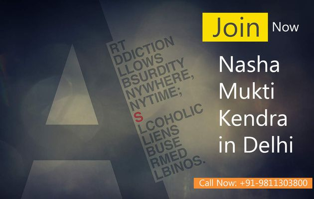 Nasha Mukti Kendra in Delhi