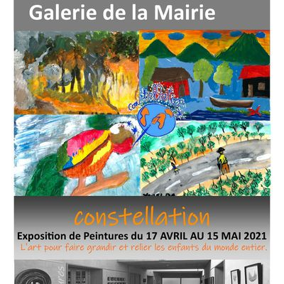 "Exposition du 17 avril au 15 mai 2021 : ""Constellation"""