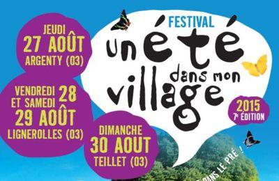 Festival « Un été dans mon village »