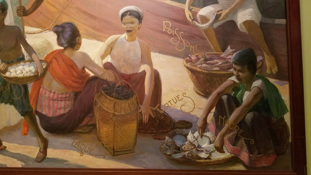 Paintings from the colonies - Quai Branly (Paris)