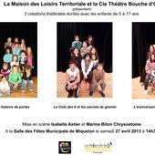 Voyage au Coeur de la Création - Miquelon 2013 - Cie Théâtre Bouche d'Or