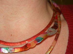 bijoux  collier molusk sur charlotteblabla blog