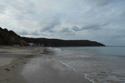 Un lundi à la plage des Rosaires
