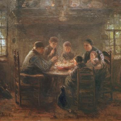 Manger local en 1860 dans une famille paysanne de l'Yonne, faut-il en rêver ? (6. Une famille nombreuse de manoeuvre-vigneron de l'Yonne en 1860........)