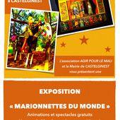 Castelginest célèbre Le mois de la Marionnette : exposition et spectacles gratuits ! - Centre Culturel à Castelginest (31780) Du Mardi 27 Octobre 2015 au Samedi 21 Novembre 2015