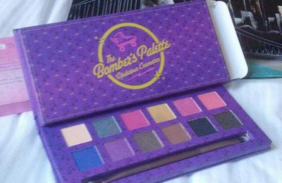 Bright with the bright palette By Djulicious Cosmetics