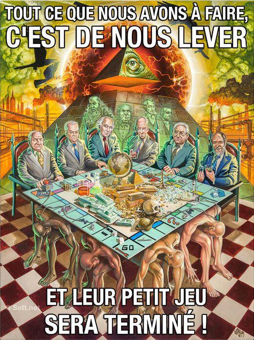 les7duquebec.net/-- « Le complotisme : arme de la paresse intellectuelle et de la gouvernance institutionnelle »…2 trucs mous et absolument sans intérêt ! Seuls des esprits préhistoriques peuvent donc s'affubler d'un tel ridicule…