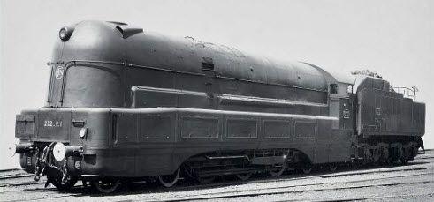 La locomotive à Haute Pression 232 P