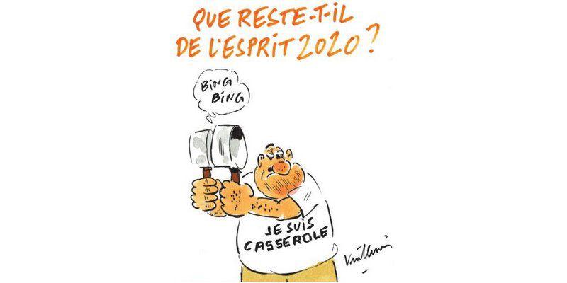 Vuillemin - Charlie Hebdo N°1484 - Mercredi 30 décembre 2020