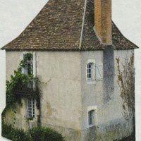 La Croix Hosannière -  La Maison du Cardinal La Balue - Maison du XVe siècle -  Maison du Péager, rue Sainte-Croix.