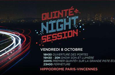Quinté + du 08/10/2021 (Prix Quinté + Night) Sur quelle chaîne et à quelle heure suivre la course ?