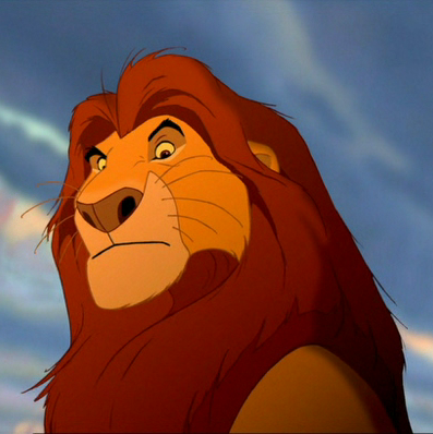 König der Löwen.