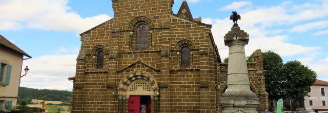 Polignac (3) : l'église Saint-Martin / Balade en Haute-Loire