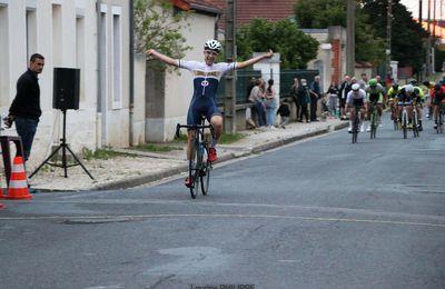 """Prix de la Ville de Sancoins """"Souvenir Michel NOEL"""" Victoire de Thomas JOUANNIN (Orléans Loiret Cyclisme Par Laurine PHILIPPE"""
