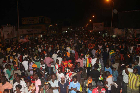Update on the protests in Togo: the peace is broken