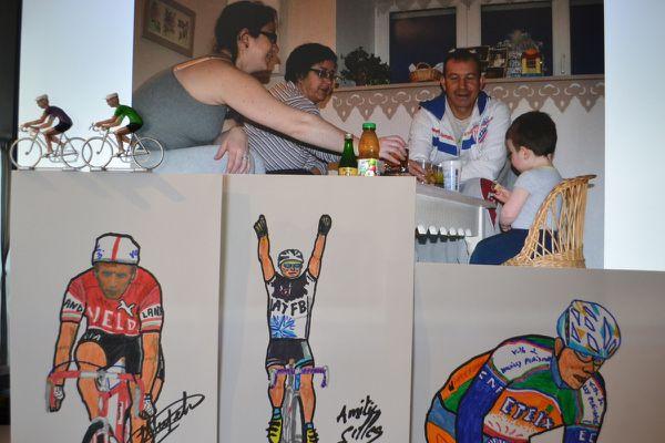 vélo, dédicaces, miniatures, famille, cuisine, bretagne,ect, c'est veloliberte92et22