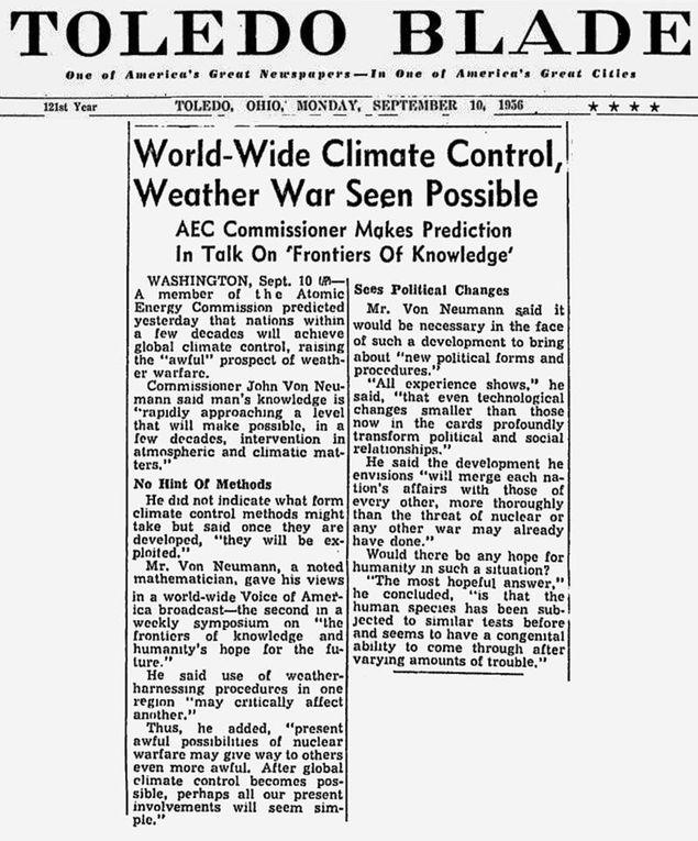 Chroniques de l'altération du climat