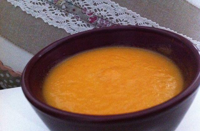 Velouté topinambour/carotte