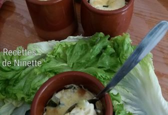 Flan de pain perdu courgettes et feta au Cookéo (ou sans)