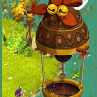 L'île flottante au chocolat
