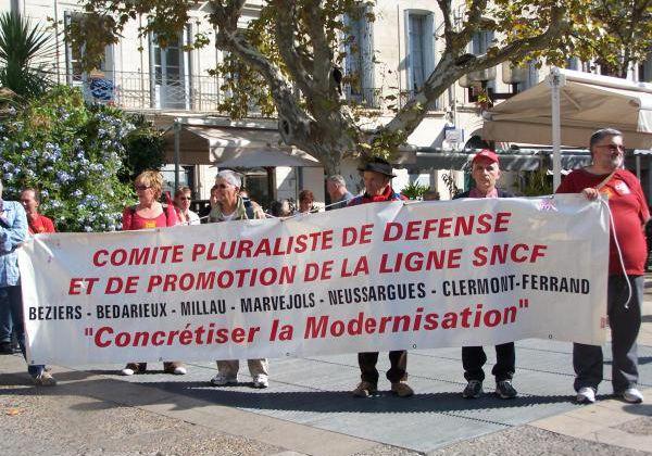 Rassemblement lundi 12 décembre à 13H30 en Gare de Neussargues