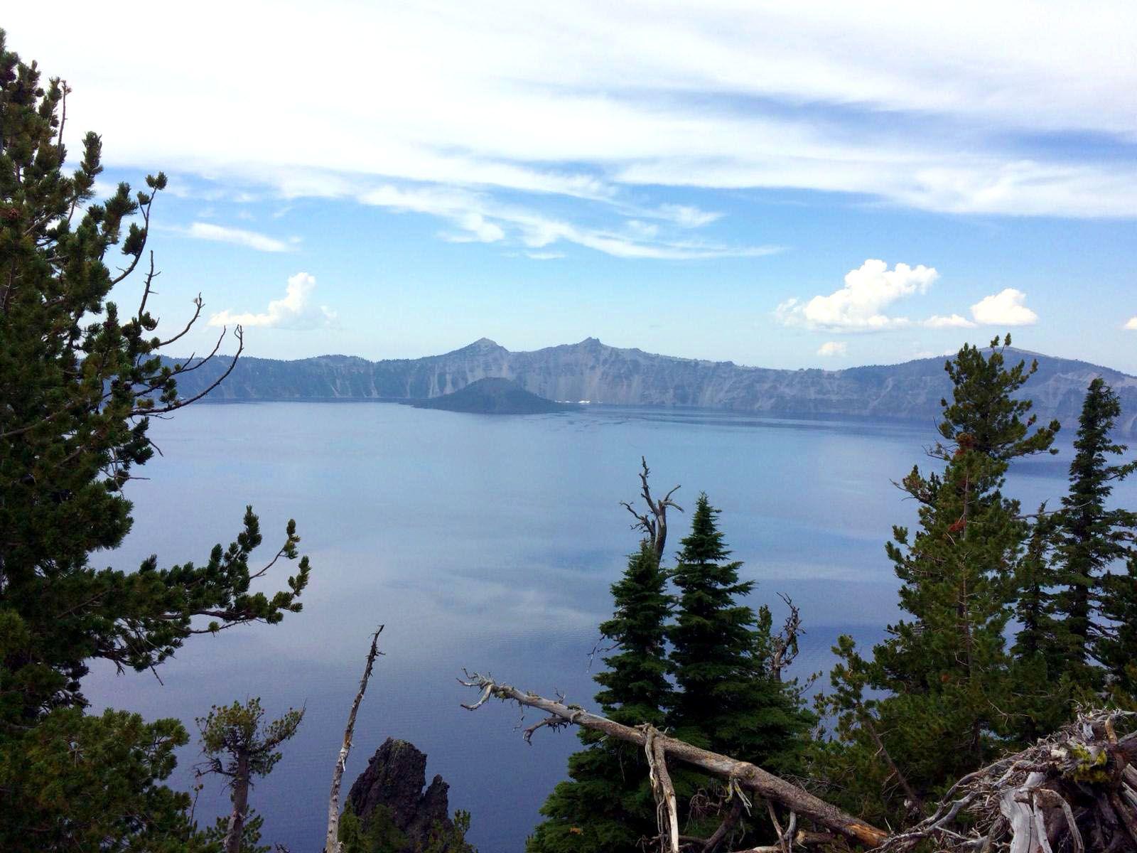 Les voyages d'Alexie : Crater Lake dans l'Oregon