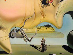 Salvador Dali - Visage du grand Masturbateur